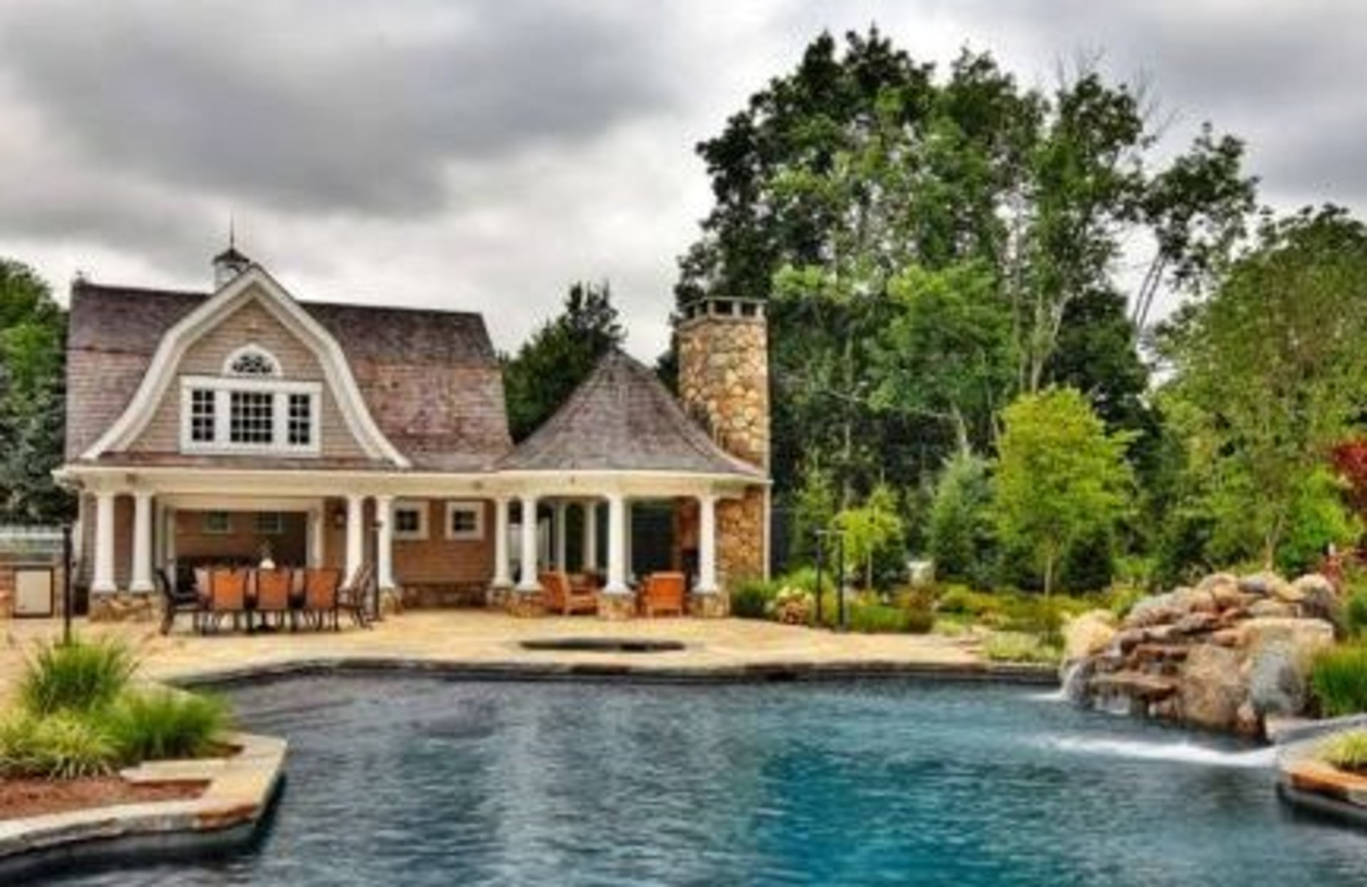 Fairfield County Connecticut Pool House Designs You Will Love
