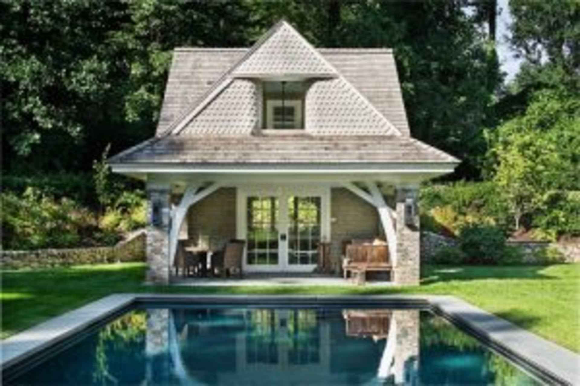 Pool Houses That Make a Splash - New Canaan, CT