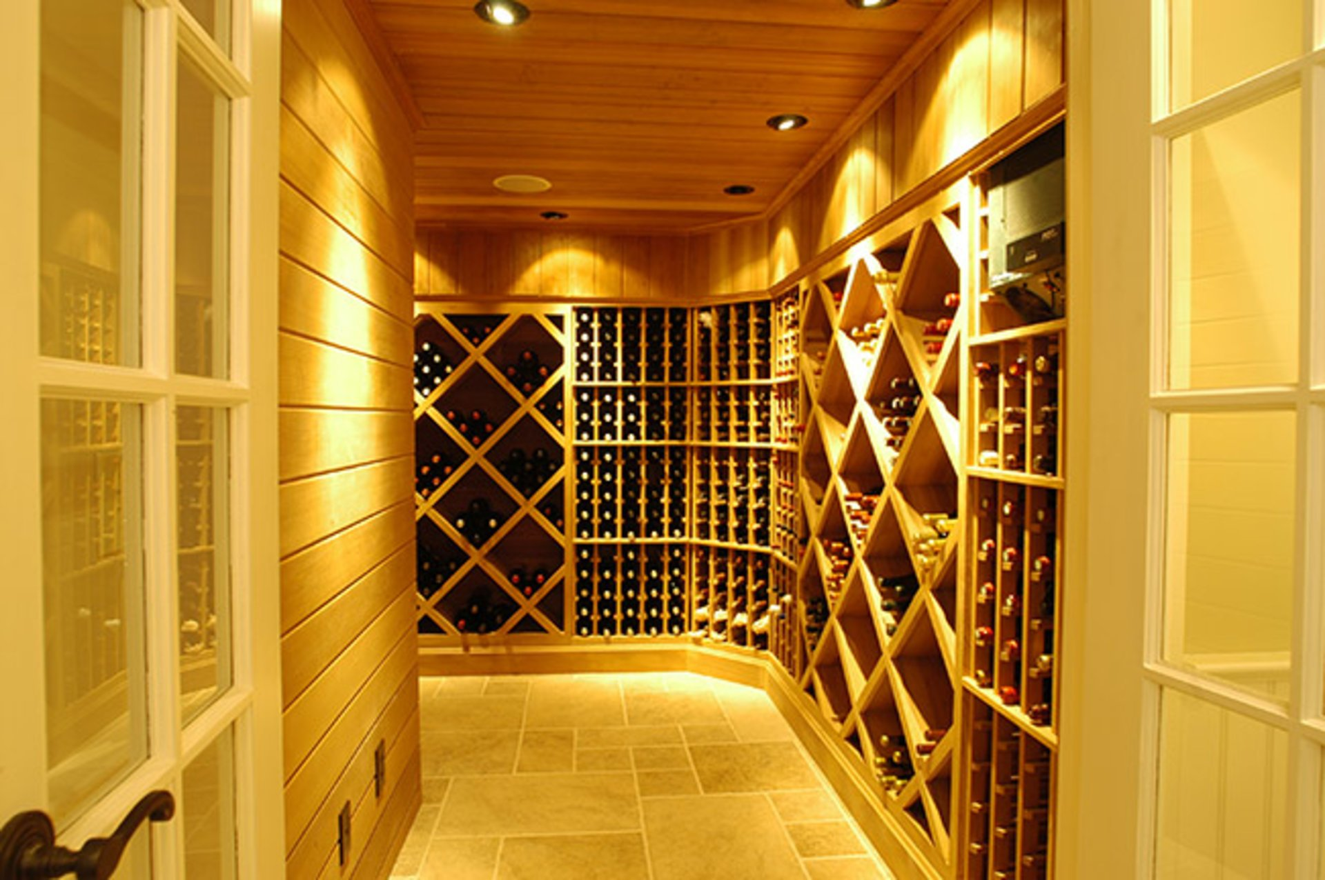 Lighting in the Wine Cellar